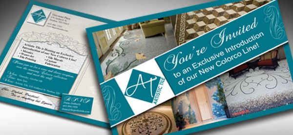 "Artistic Tile <p class='pscrol'>""We have worked with Girard Advertising for over 10 years now. Karen has been able to take the advertising and marketing element of our business off our plate allowing us to concentrate on what we do best. Karen has been a wonderful advisor and a true pleasure to work with. Karen is professional, knowledgeable, sensitive about budgets and always positive and encouraging. We hold the philosophy of letting the professionals do what they do best and Karen is the best! ""  <br/><br/>— Diane Dubberly, Owner</p>"