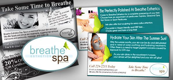 "Breathe Esthetics Spa <p class='pscrol-not'>""Karen not only has a wonderful understanding of the advertising world, but also possesses a kind and caring heart that causes her clients' success to become her top priority.""  <br/><br/>— Cherie Shaw, Owner</p>"