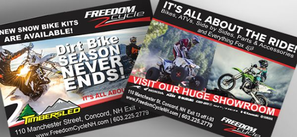 "Freedom Cycle <br/><p class='pscrol-not'>""Girard Advertising has been instrumental in year after year growth for us here at Freedom Cycle. The creativity of our advertising and placing expertise has been a tremendous boost to our business and advertising planning. Enlisting the help of Girard Advertising was one of the best things we have done."" <br/><br/>— Andy Galliher, General Manager</p>"