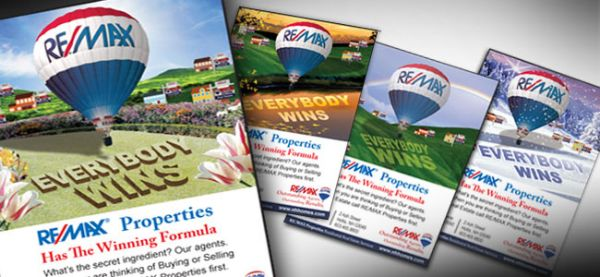 "Re/Max Properties <p class='pscrol-not'>""Girard Advertising & Multi Media Production has developed an effective advertising strategy as well as produced numerous beautifully designed creative ads for Re/Max Properties. We absolutely LOVE them!!! Karen and her team are very easy to work with and professional. Girard Advertising came highly recommended and I can see why. I would not hesitate to recommend them to everyone."" <br/><br/>— Ann Haskell, Promotions Committee  </p>"