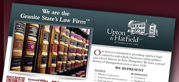 "Upton & Hatfield <p class='pscrol-not'>""Girard Advertising is an invaluable partner in our firm's marketing plan and provides valuable strategic advice to help us stay ahead in both traditional and cutting-edge media.""  <br/><br/>Justin Richardson, Attorney<br/>Upton & Hatfield Marketing Committee</p>"